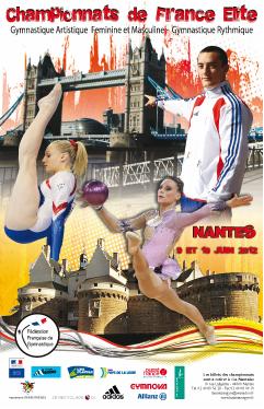 Nantes accueille les championnats de France Elite de gymnastique 2012