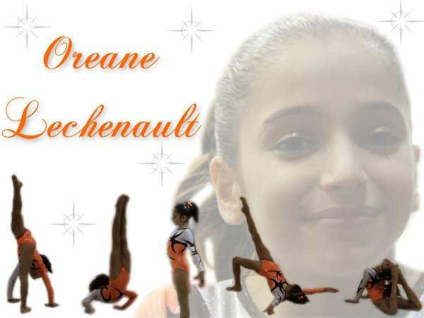 La gymnaste Oréane Léchenault mis en scène par OréaneGymFan.
