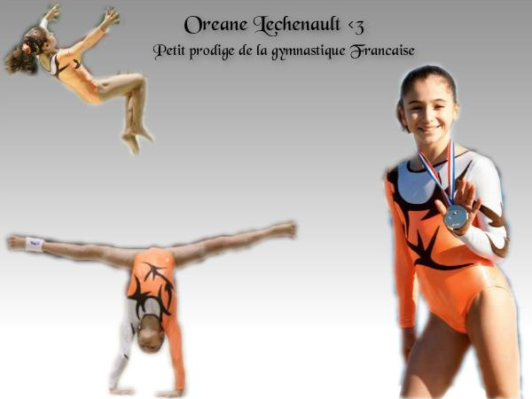 La gymnaste Oréane Léchenault vue par Violette, une grande fan !