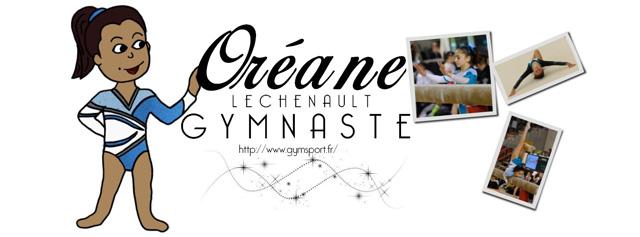 Oreane lechenault gymnaste au pôle de Toulon